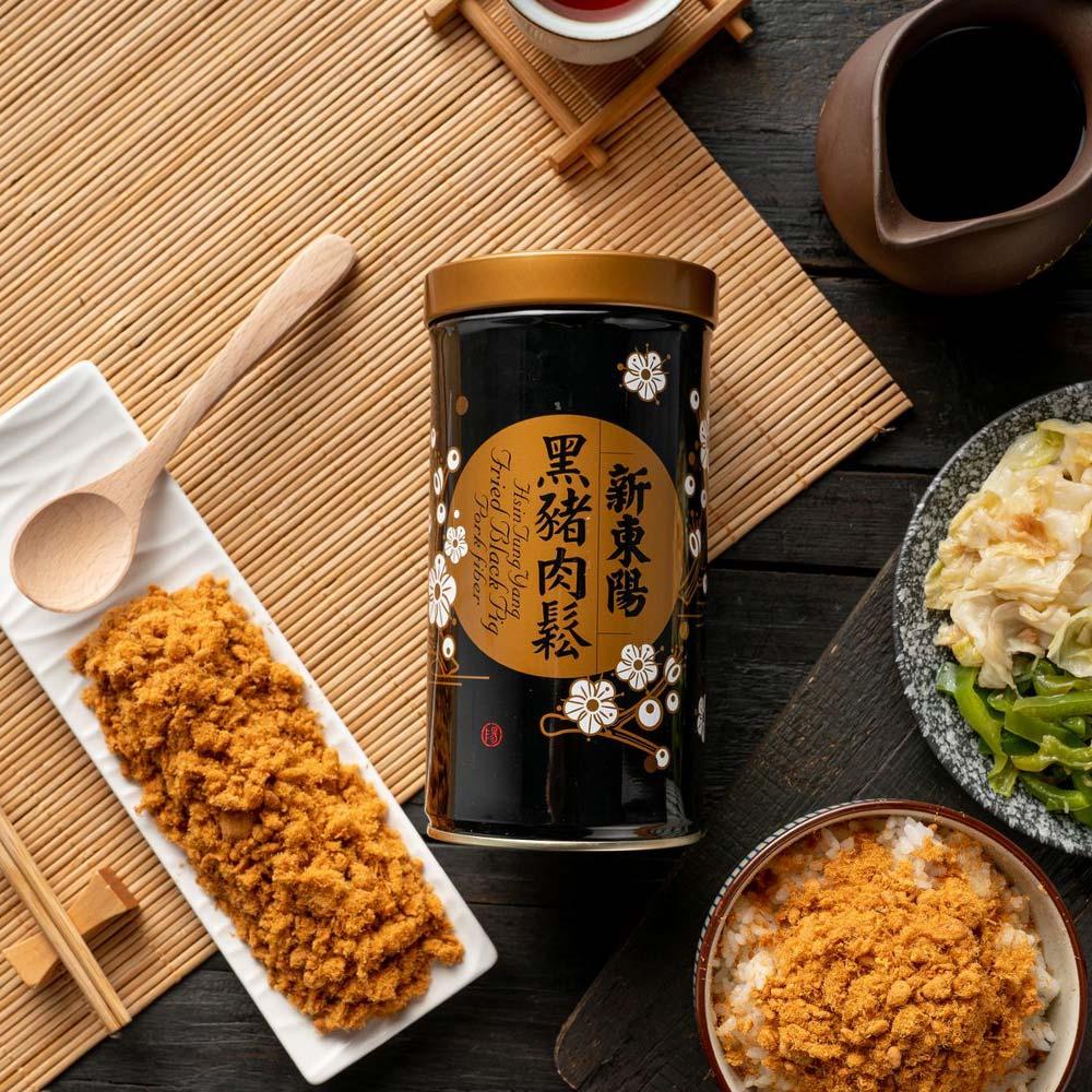 【新東陽】黑豬肉鬆(255g*2罐)