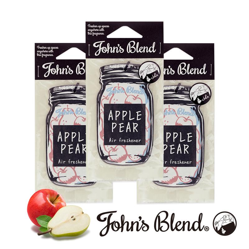 【日本John′s Blend】香氛片〈清甜蘋果梨3入組〉