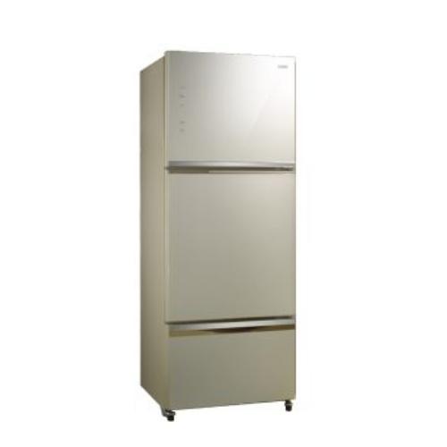 【SAMPO聲寶】530L 變頻三門冰箱 SR-A53DV(Y2) 炫麥金