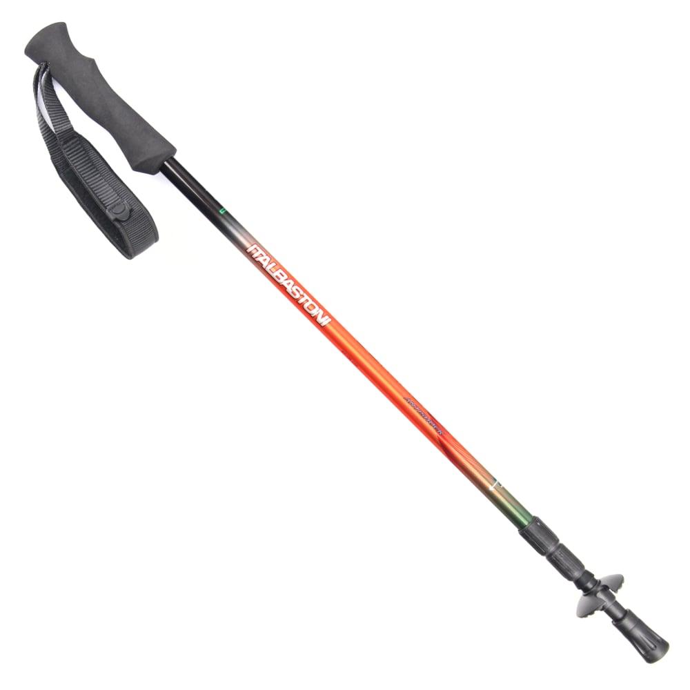 犀牛 RHINO  義大利 italbastoni Ultralite超輕登山杖(僅215g)-亮橘
