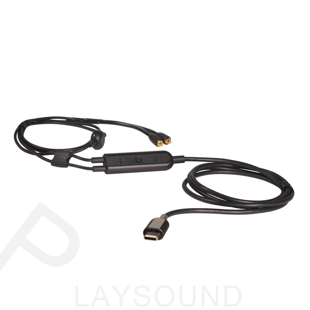 SHURE RMCE-USB Type-C 可通話 內建DAC Android專用 耳機通話線材