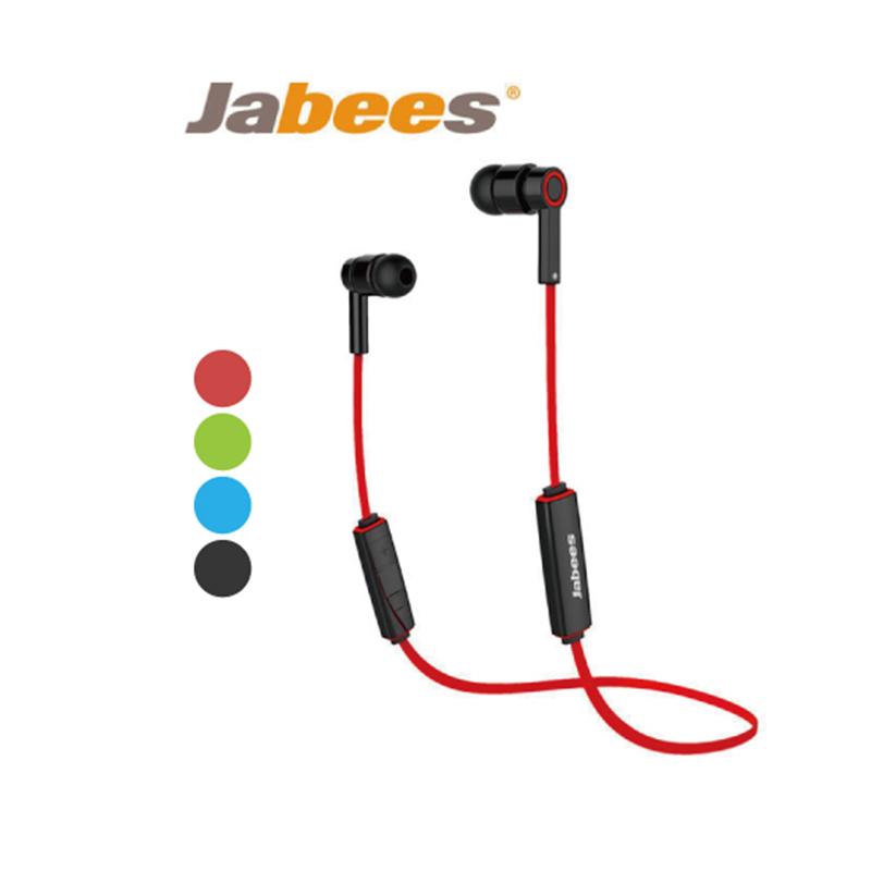 Jabees OBees 藍芽立體聲運動型耳機-紅色