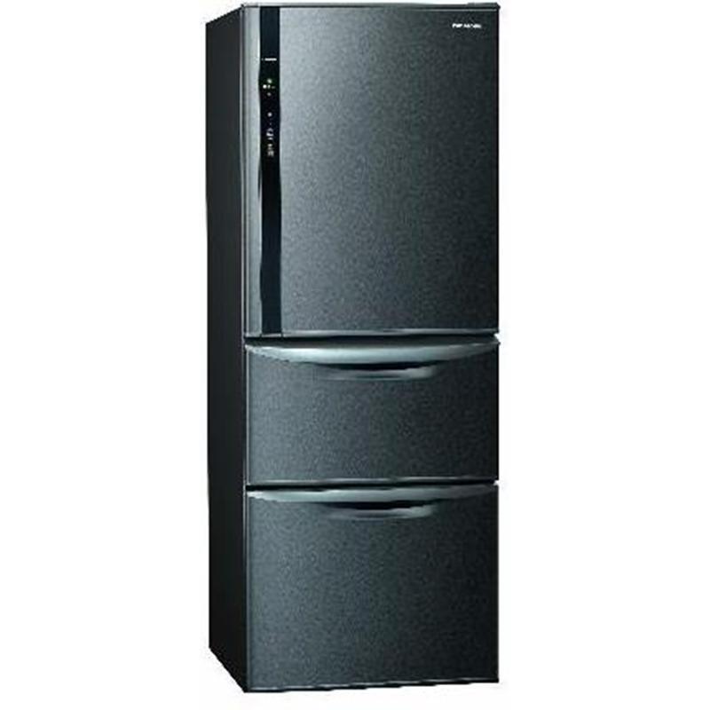 PANASONIC 468公升三門變頻鋼板電冰箱 絲紋黑 NR-C479HV-V