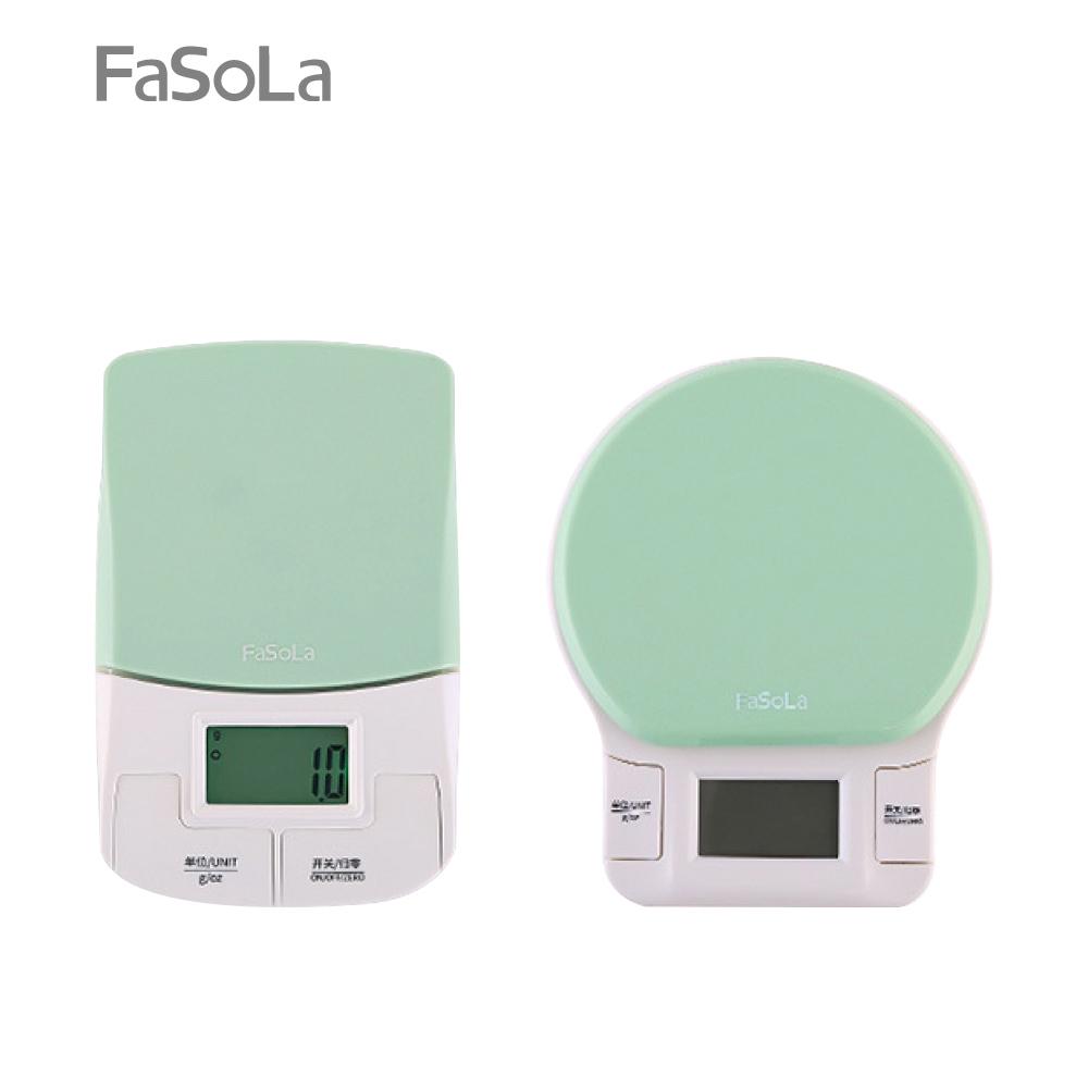 FaSoLa LED背光高精度電子秤 圓形