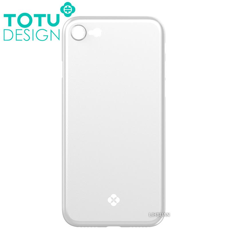 【TOTU台灣官方】iPhone8手機殼 晶瑩系列 銀色