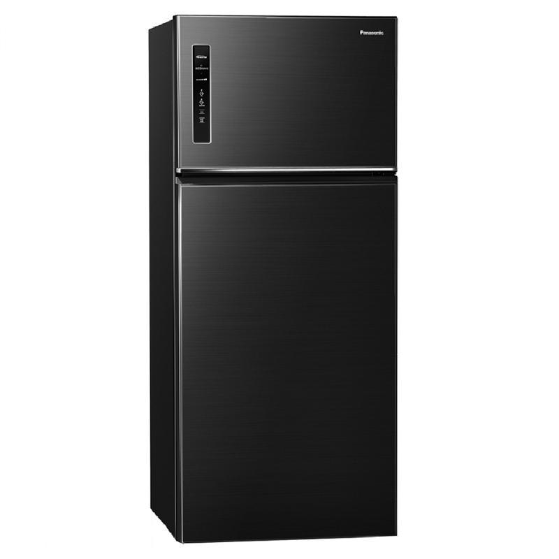 Panasonic 579L無邊框鋼板變頻雙門電冰箱 晶漾黑 NR-B581TV-K【贈基本安裝】