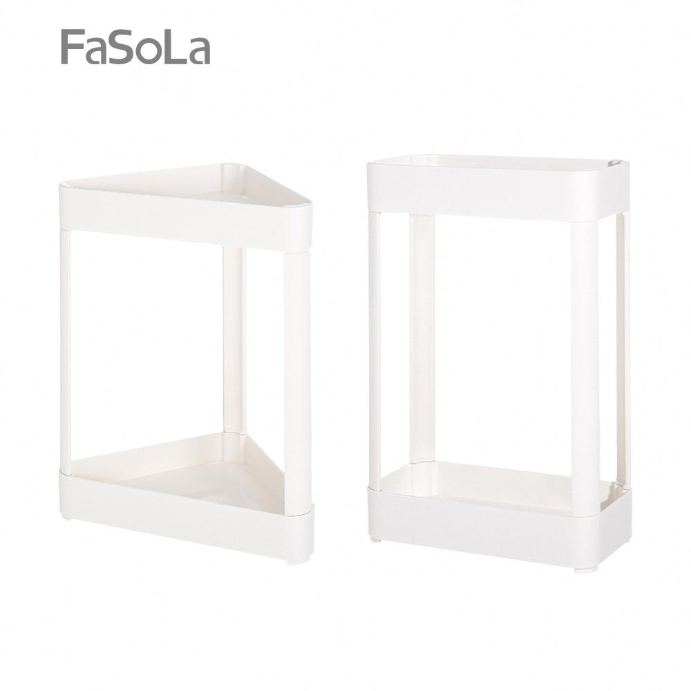 FaSoLa 多功能免打孔層架組 三角形