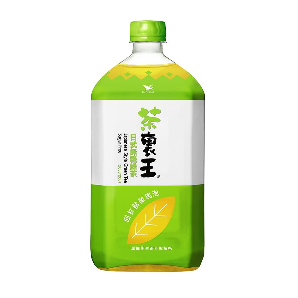 茶裏王-日式無糖綠茶975mlX12罐/箱