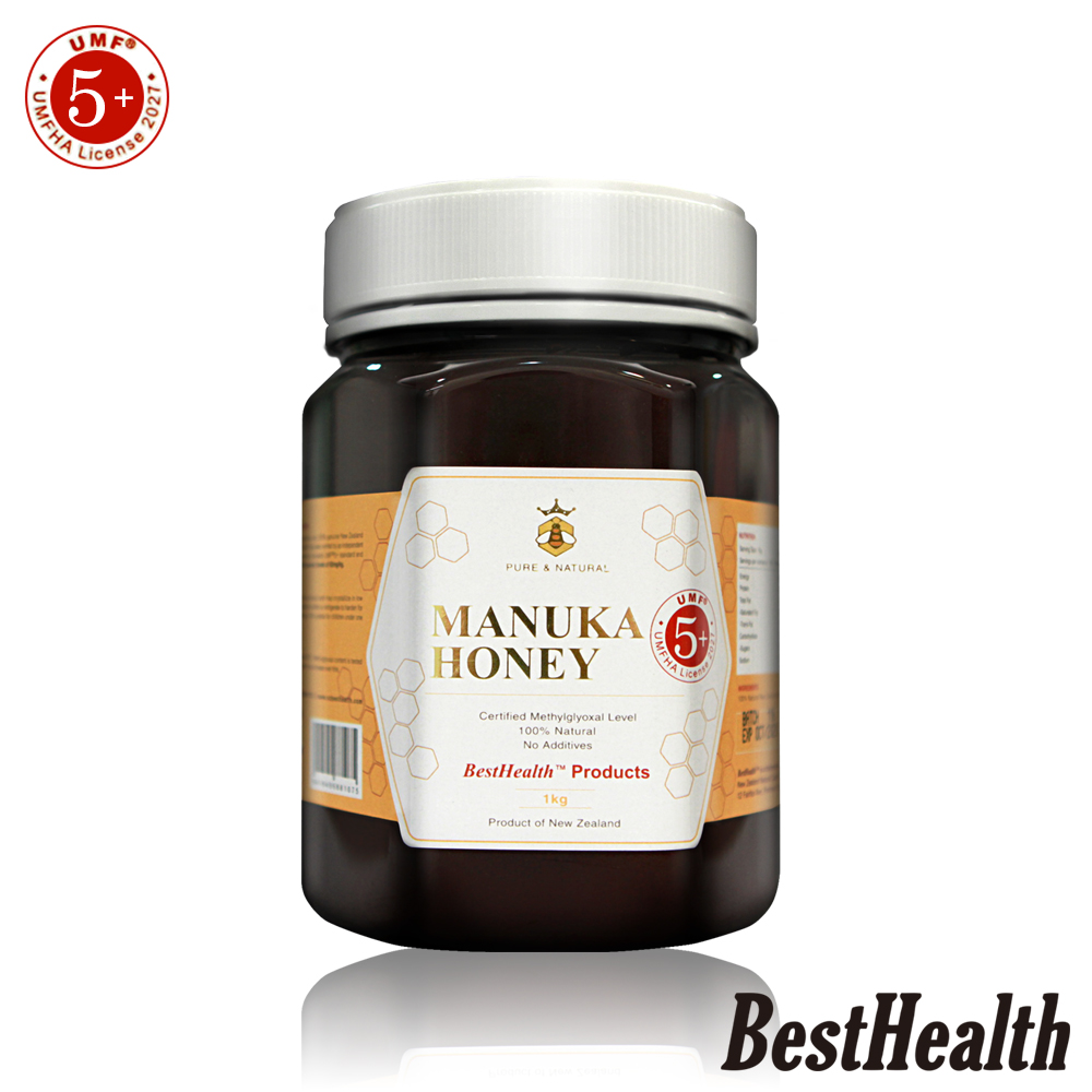 【Best Health】紐西蘭麥蘆卡蜂蜜活性UMF 5+(1000g)
