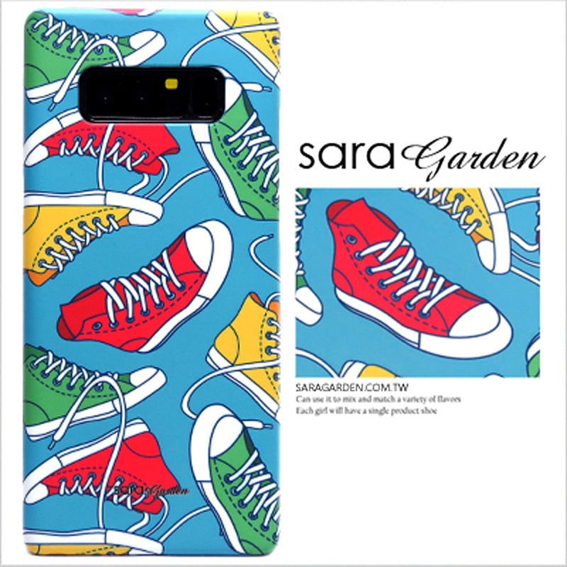 【Sara Garden】客製化 手機殼 OPPO R11S r11S 潮流帆布鞋 保護殼 硬殼