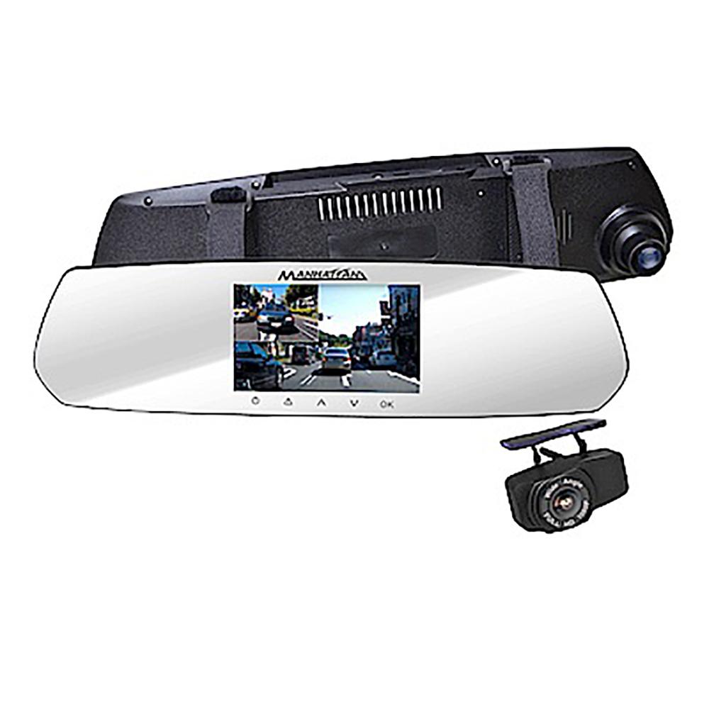 ★送安裝★MANHATTAN 曼哈頓 RS10D PRO 4K超高畫質雙鏡頭行車紀錄器
