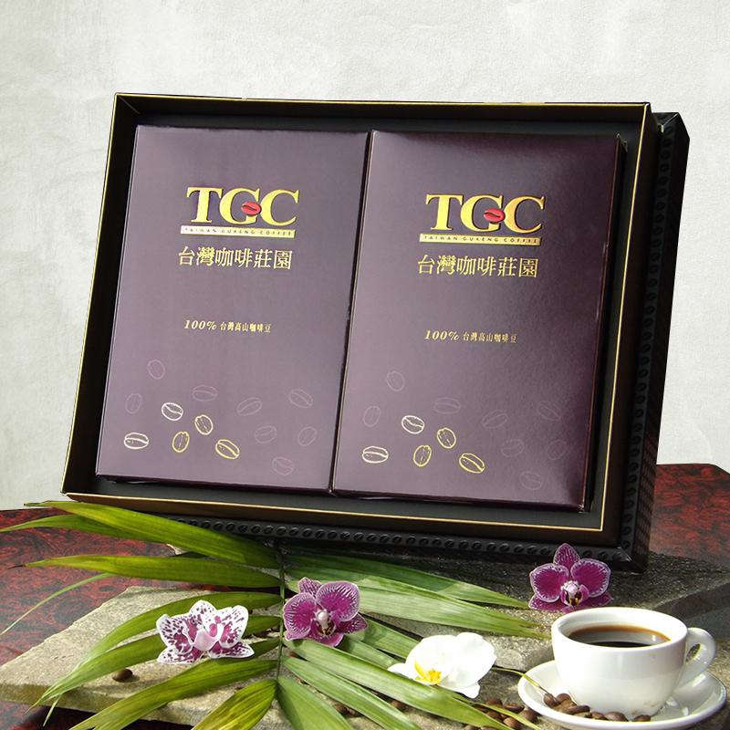 【TGC】古坑嚴選高山咖啡豆精品禮盒