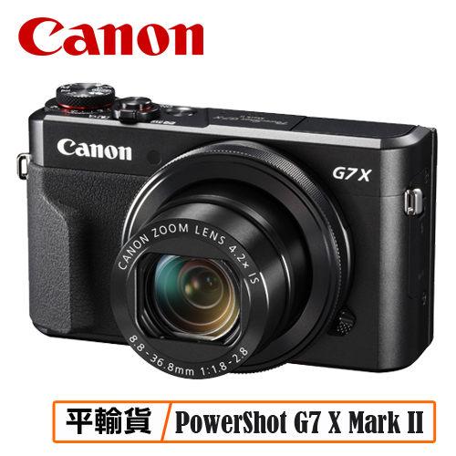 CANON PowerShot G7 X Mark II 數位相機 G7XII 相機 平行輸入 保固一年