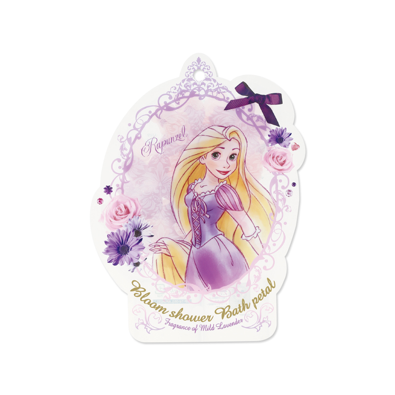 Disney迪士尼公主花瓣泡澡片-長髮公主〈薰衣草香〉-1入組
