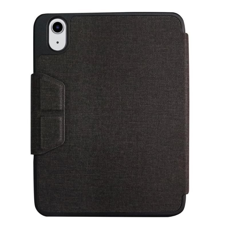 JTLEGEND 多角度摺疊布紋皮套 iPad mini 8.3吋 (2021)含筆槽+磁扣 黑