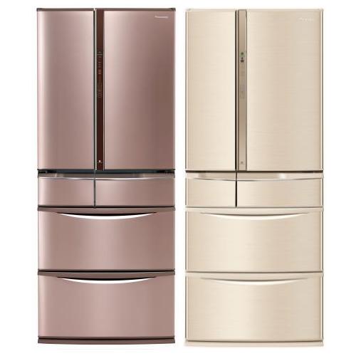 【Panasonic國際牌】601L 變頻6門電冰箱-玫瑰金 NR-F604VT-R1