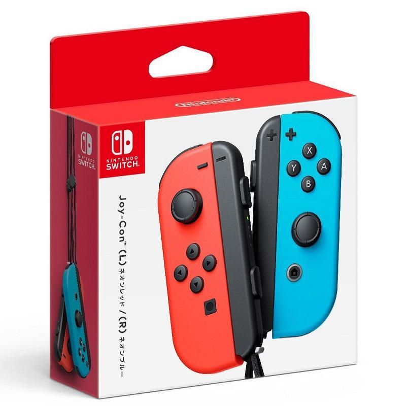Nintendo Switch  Joy-Con 控制器 左右手套組 紅藍