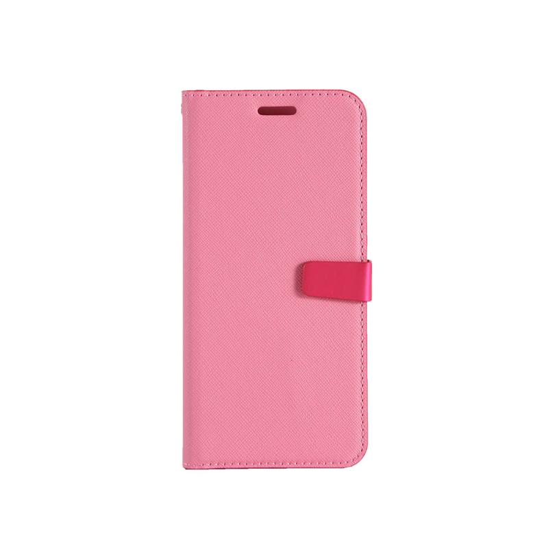 CASE SHOP Samsung Galaxy J6 專用側掀站立式皮套-粉