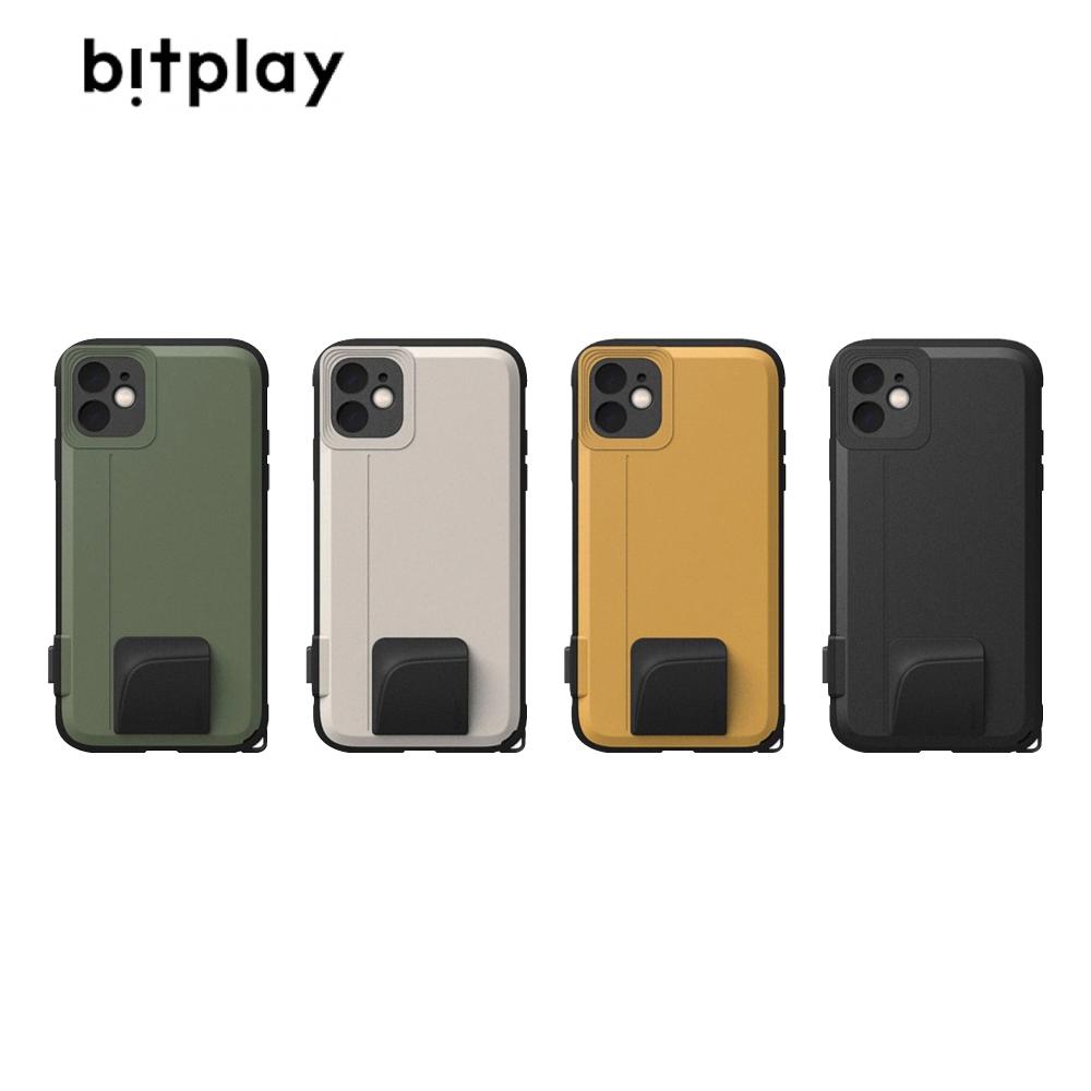 bitplay SNAP!iPhone 11 6.1吋 外接鏡頭防摔手機殼 黑色