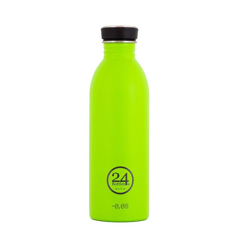 義大利 24Bottles 城市水瓶 500ml - 檸檬綠