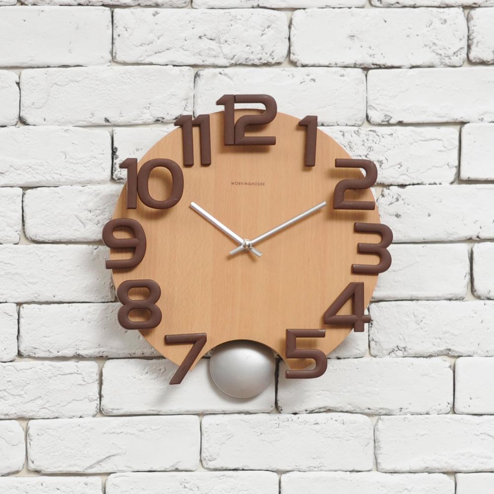 3D數字搖擺掛鐘-生活工場