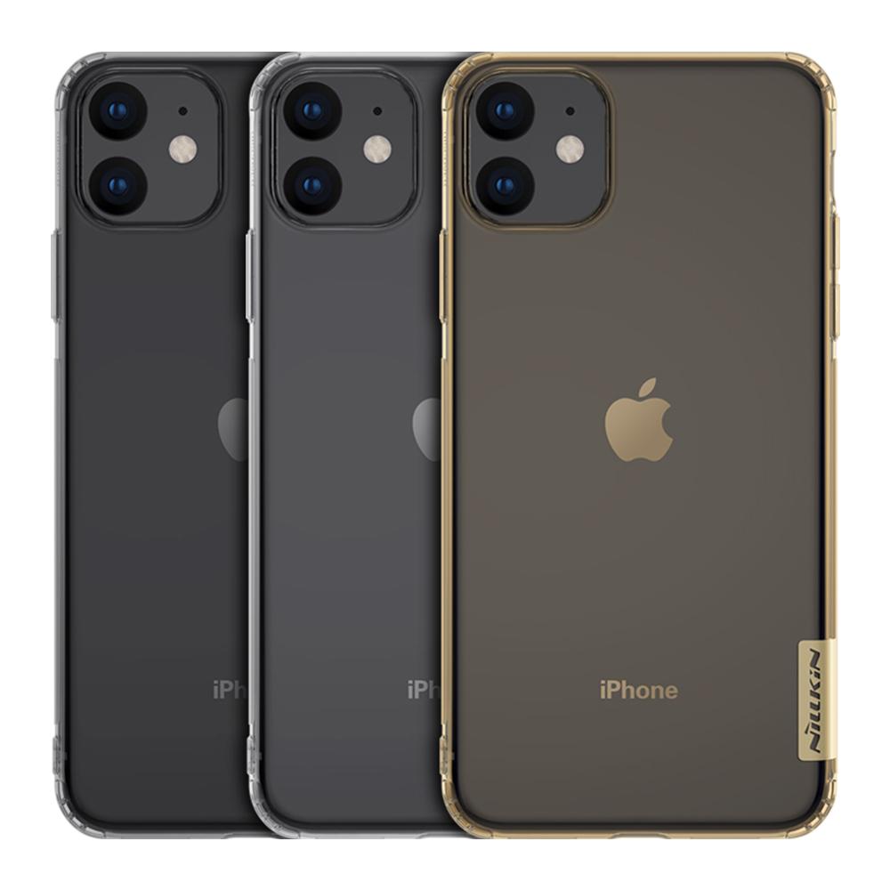 NILLKIN Apple iPhone 11 6.1 本色TPU軟套(深灰)
