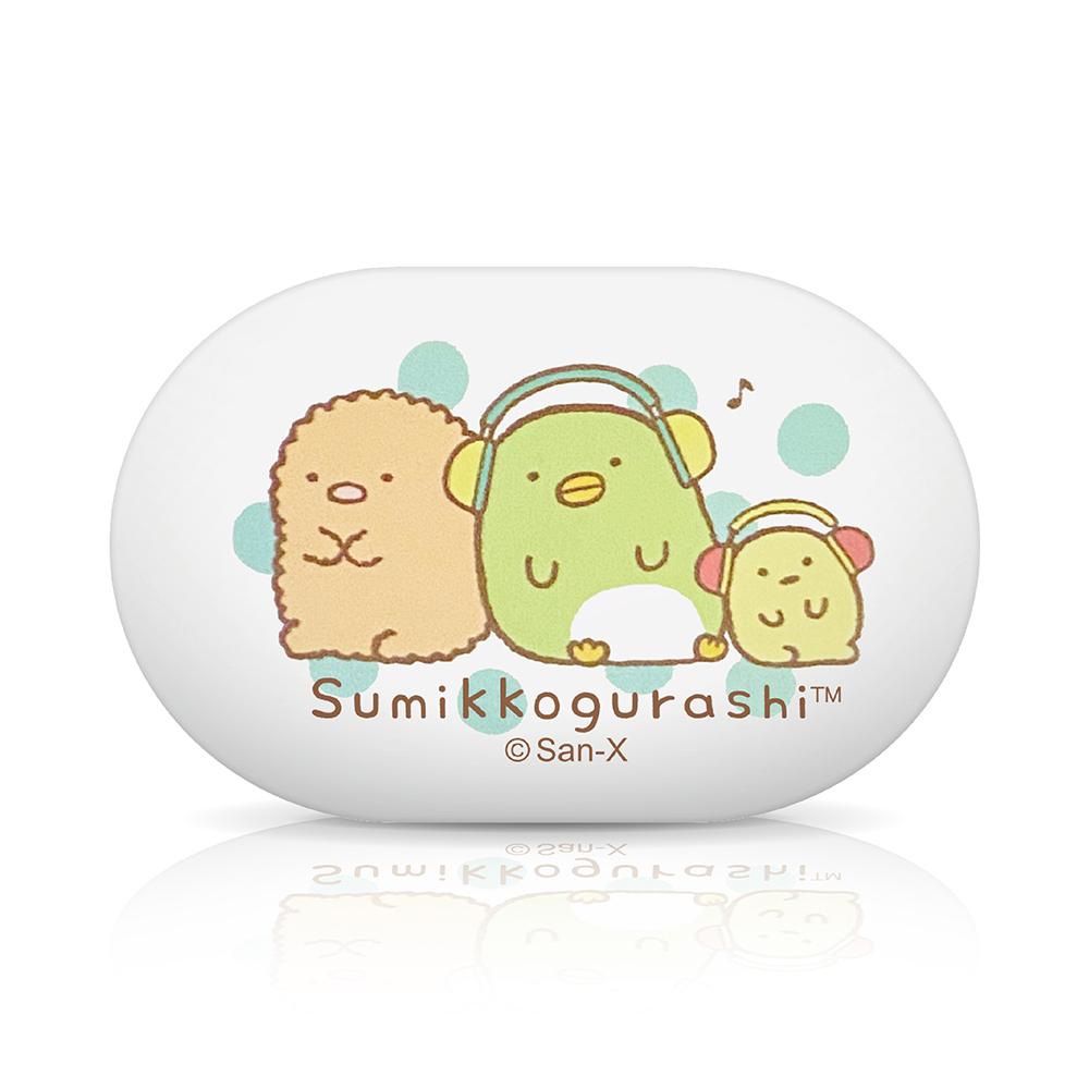【正版授權】角落生物小夥伴Sumikko Gurashi 無線藍牙耳機-音樂(白)