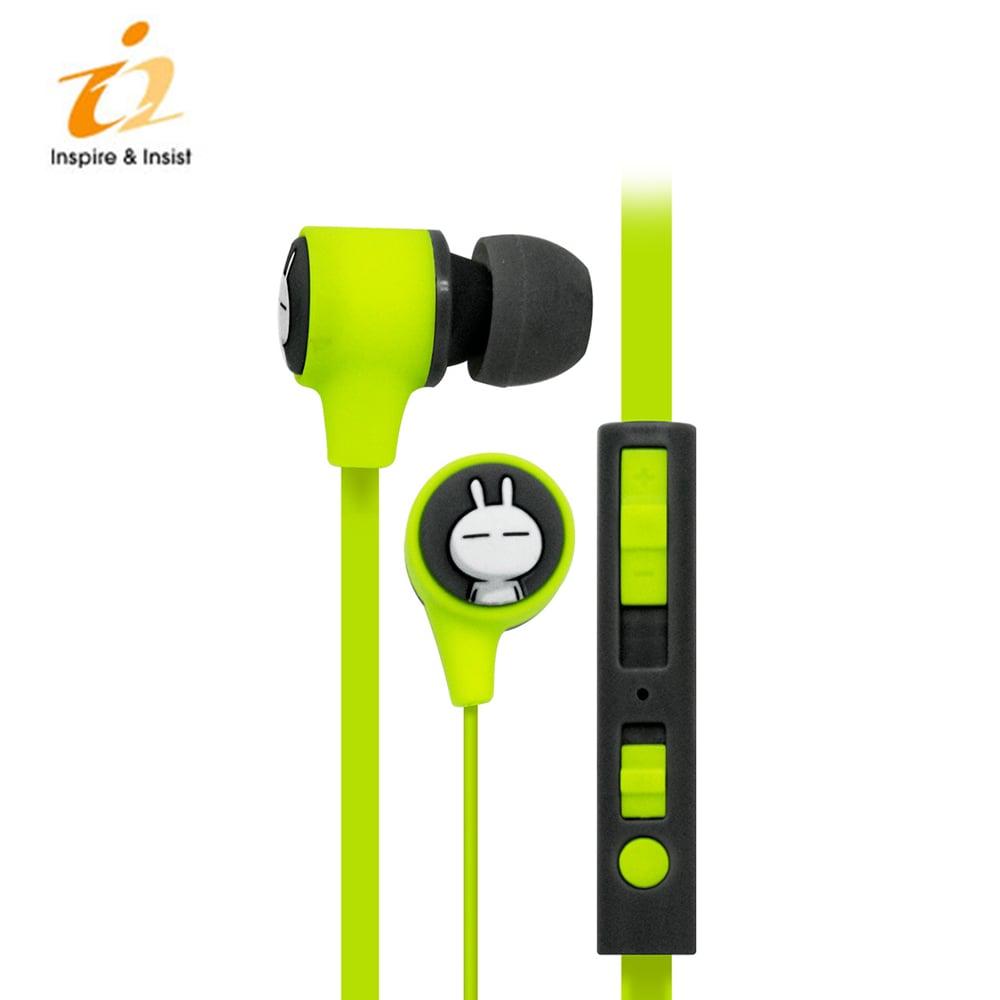 i2 兔斯基Pump耳機 - 綠色