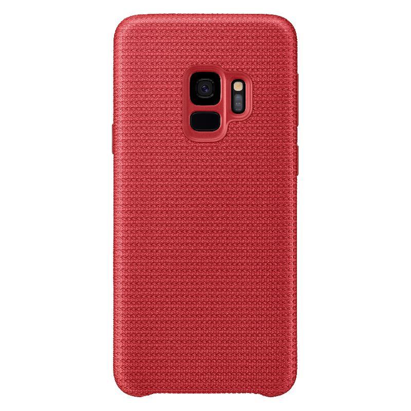 SAMSUNG Galaxy S9網狀織布背蓋  紅色