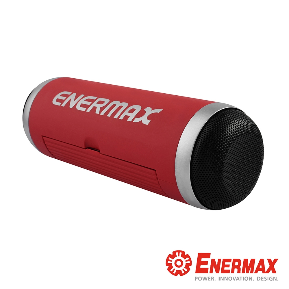 ENERMAX安耐美 EAS01 無線藍牙喇叭 (NFC/藍牙連線+TF卡插槽)-紅色