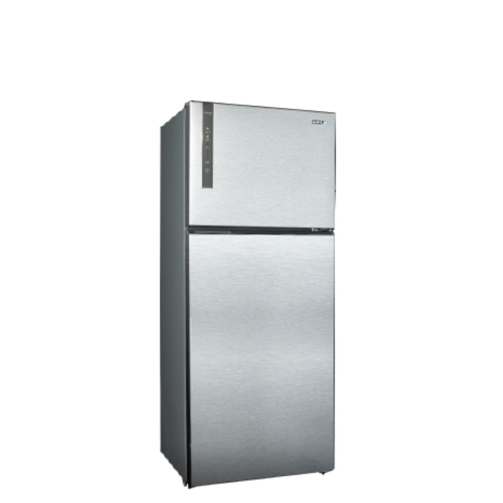 聲寶530公升雙門變頻冰箱漸層銀SR-B53D(K3)