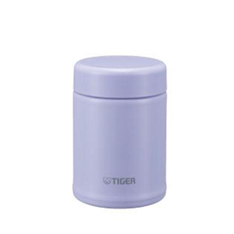 TIGER虎牌 百變Fun不鏽鋼食物罐(MCA-B025粉紫)
