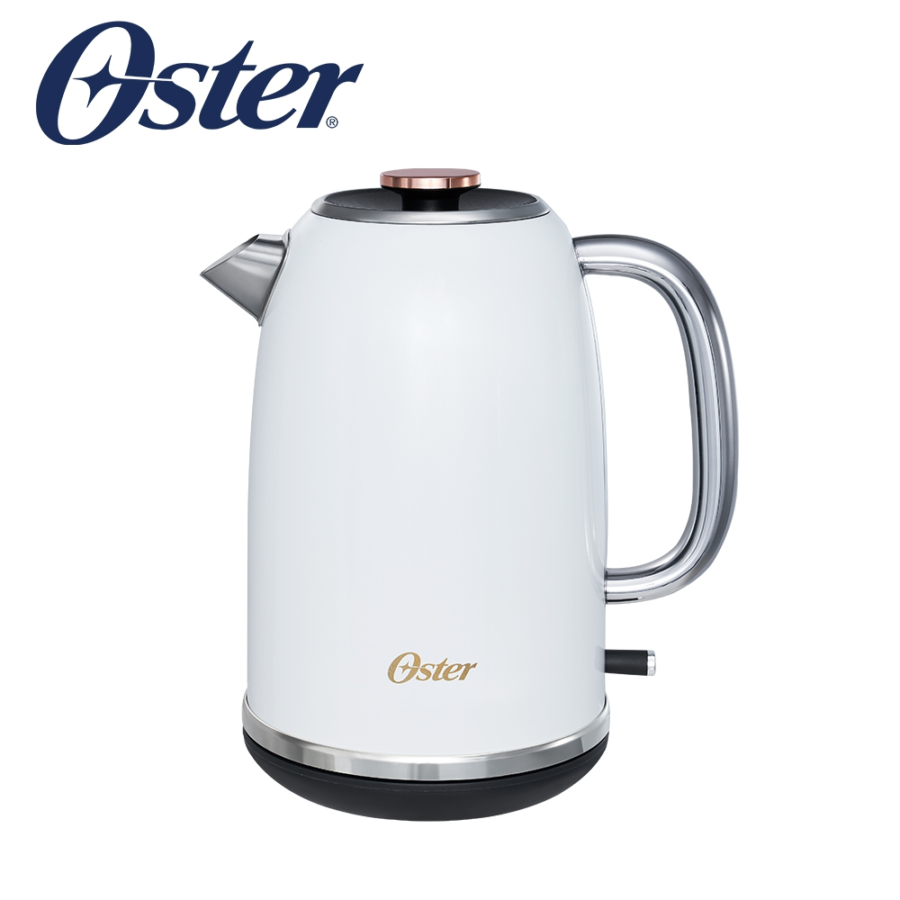 美國OSTER-舊金山都會經典快煮壺(鏡面白) 2660407W