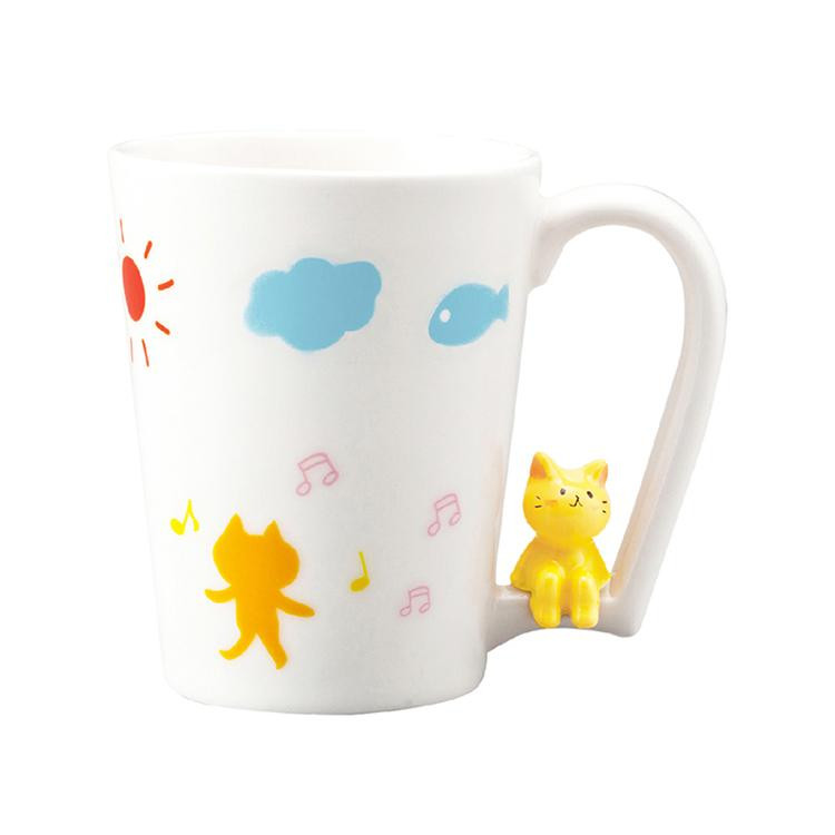 日本 sunart 馬克杯 - 喜樂貓