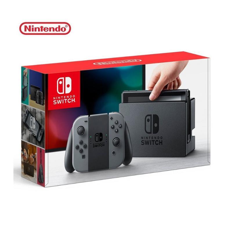 Nintendo 任天堂 Switch 主機 灰黑 (台灣公司貨)
