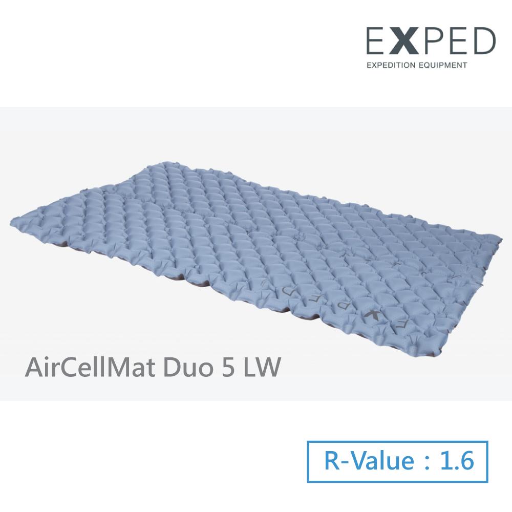 【瑞士EXPED】AirCellMat DUO 5 (LW)雙人睡墊