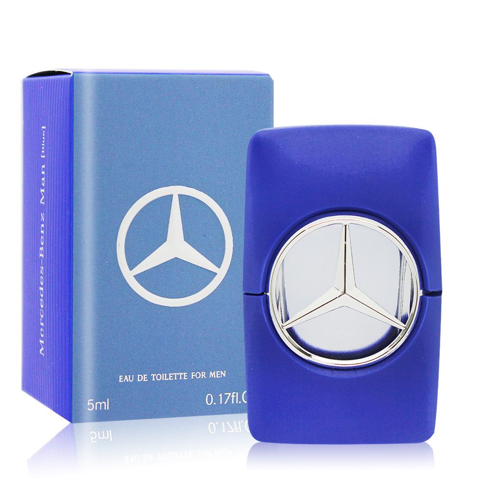 Mercedes Benz 賓士 紳藍爵士男性淡香水 Blue(5ml) EDT-國際航空版