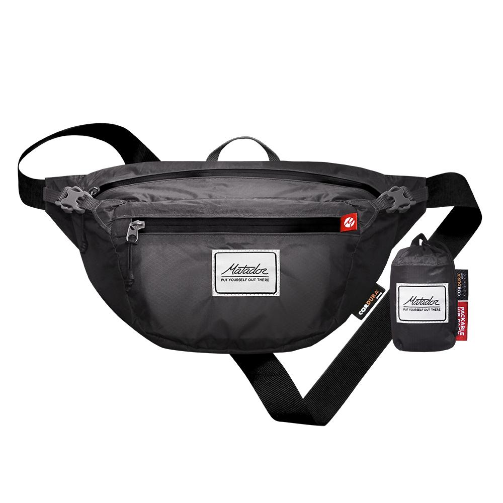 Matador鬥牛士DayLite Packable Hip Pack 防水旅行腰包-灰