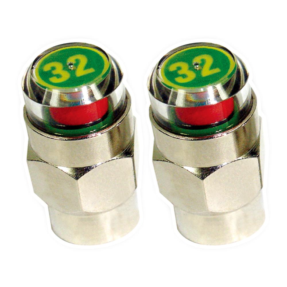 【安伯特】胎壓氣嘴蓋(4入)32psi*附-防竊扳手 胎壓偵測 輪胎氣嘴蓋