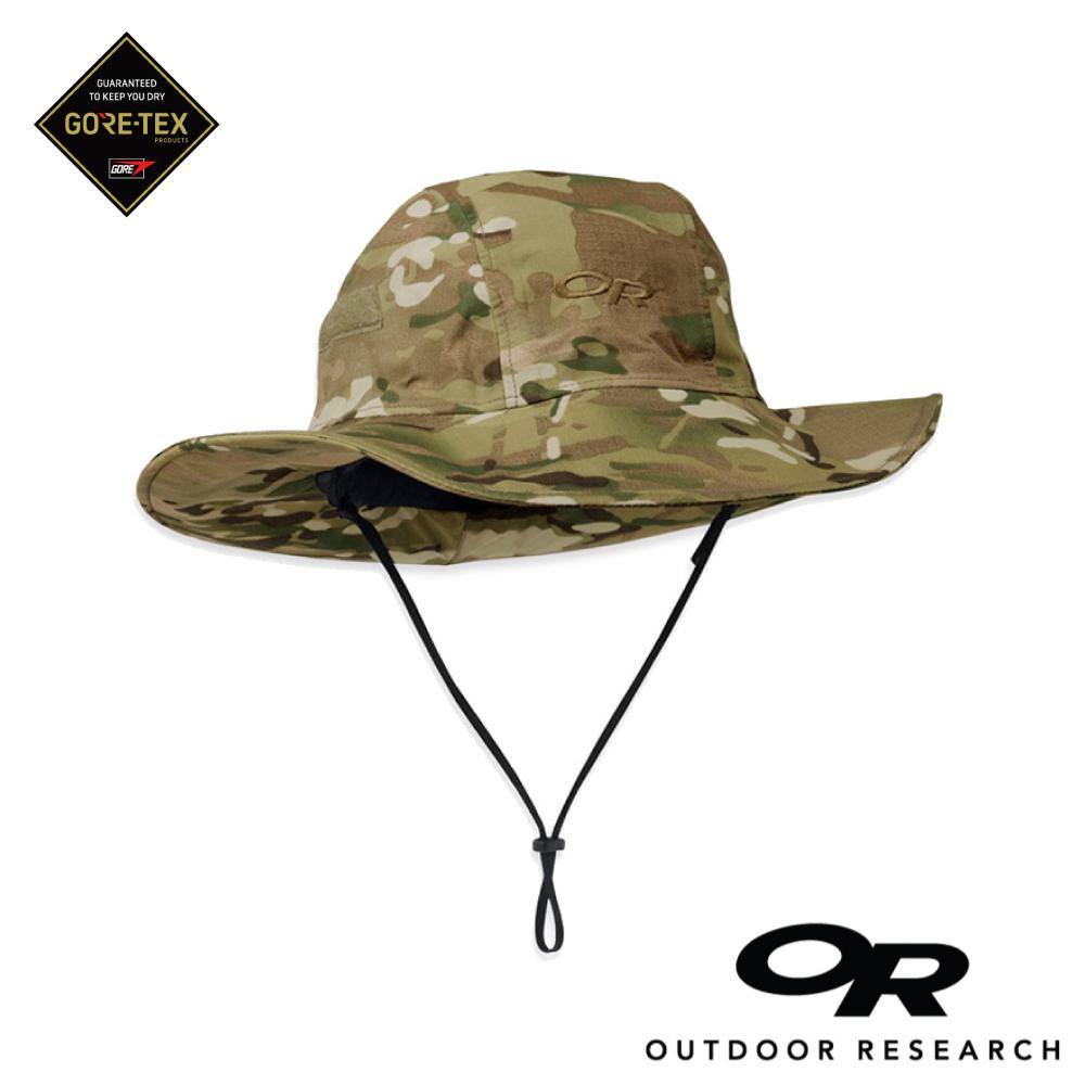 【美國Outdoor Research】XL號-迷彩款防水透氣防曬可折疊遮陽帽