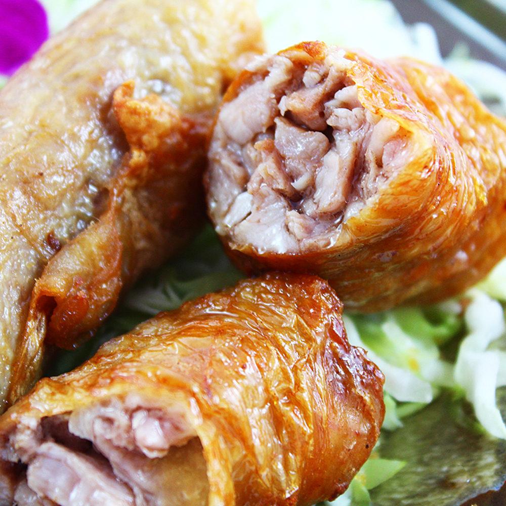 預購《老爸ㄟ廚房》爆漿雞肉捲300g/包 (共三包)