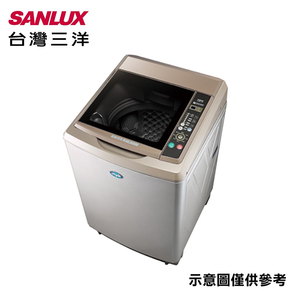 【SANLUX台灣三洋】15KG 定頻直立式洗衣機 SW-15AS6