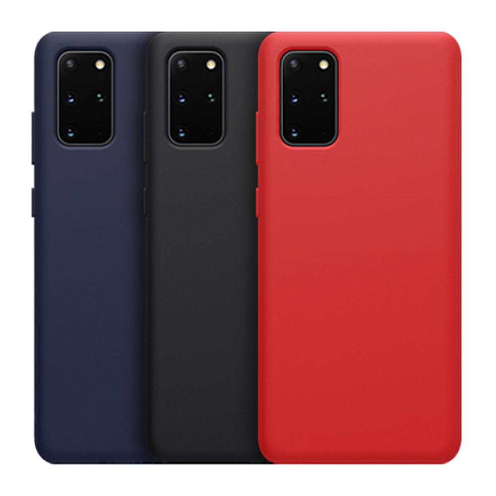 NILLKIN SAMSUNG Galaxy S20+ 感系列液態矽膠殼(紅色)