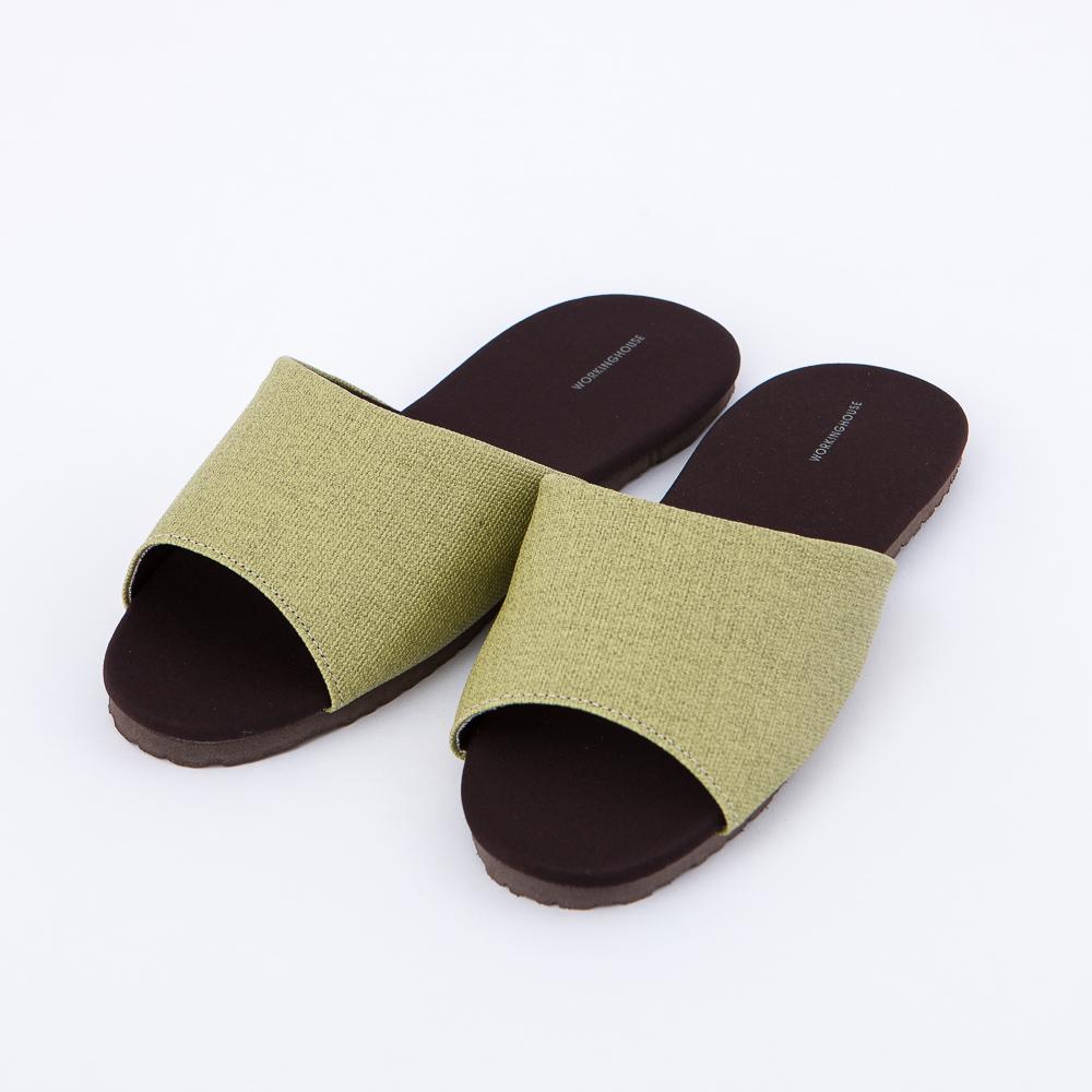 機能抗菌拖鞋-翡綠M-生活工場