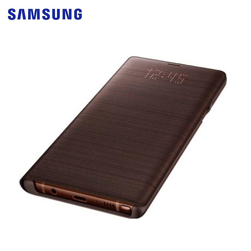 SAMSUNG Galaxy Note 9 原廠LED皮革翻頁式皮套 (藍色)