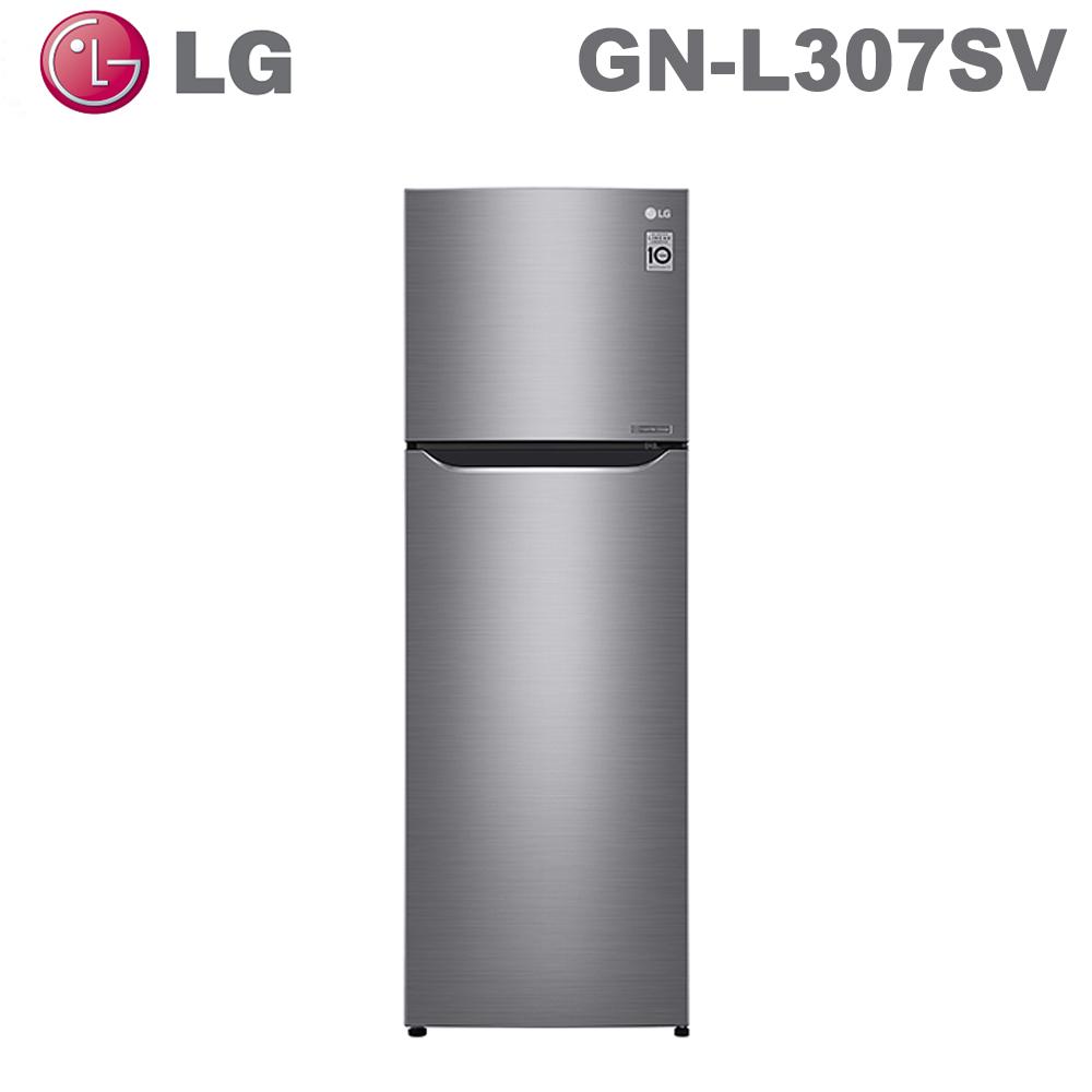 【LG 樂金】253公升直驅變頻上下門冰箱GN-L307SV