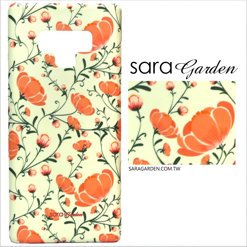 【Sara Garden】客製化 手機殼 Samsung 三星 Note10 保護殼 硬殼 復古柔和碎花