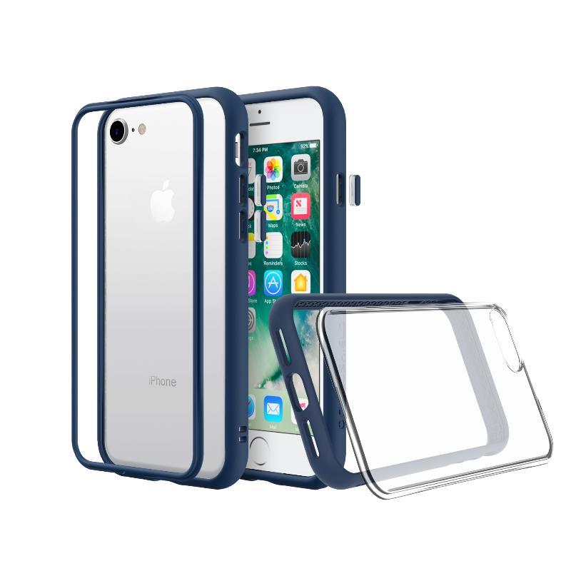 犀牛盾iPhone8/iPhone7 MOD NX防摔背蓋手機殼 雀藍