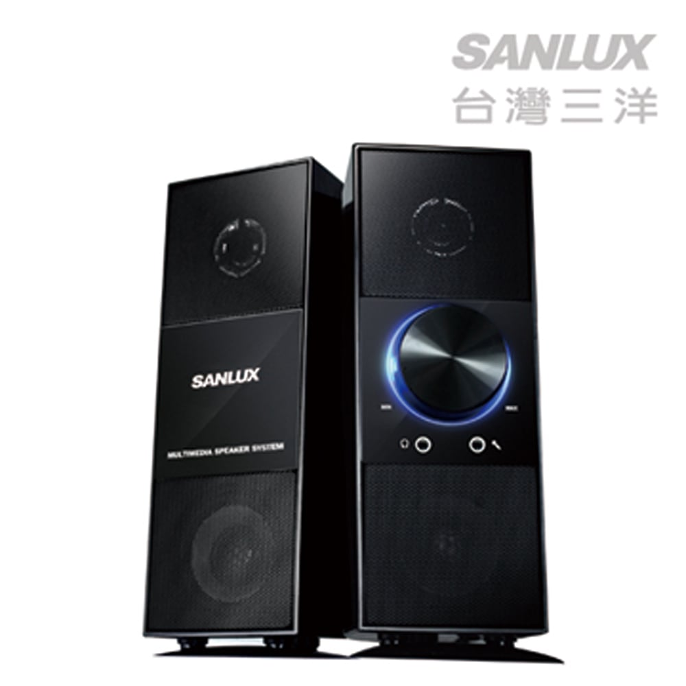 SANLUX台灣三洋旗艦2.0聲道多媒體喇叭-天之韻(SYSP-1027)