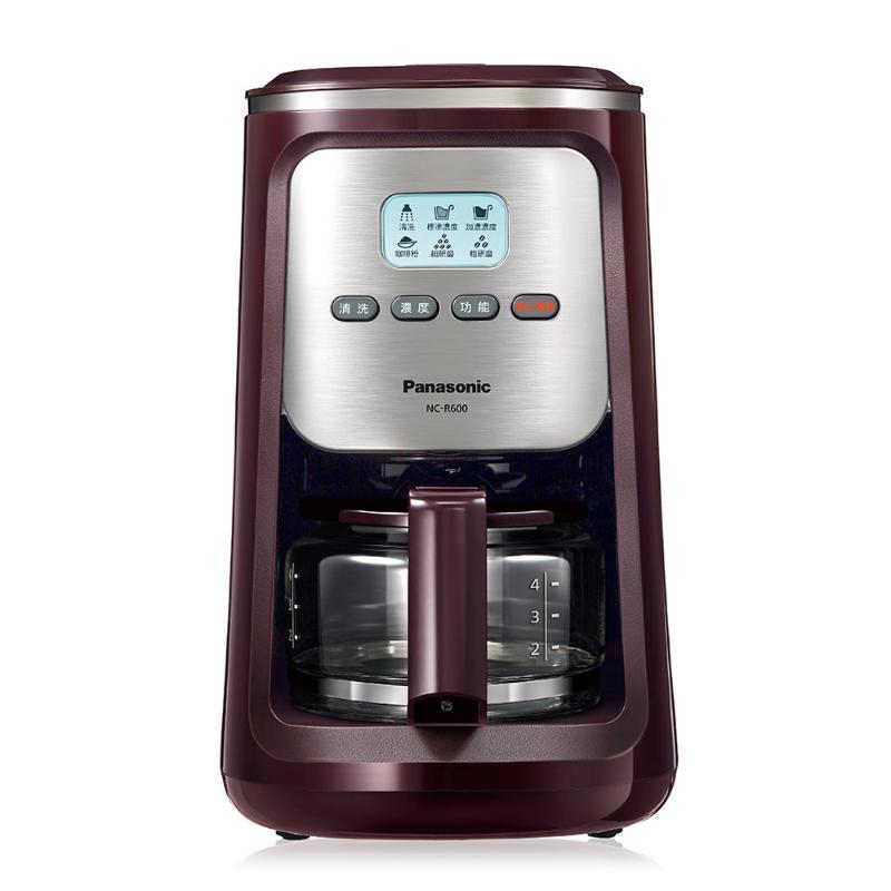 PANASONIC 全自動研磨美式咖啡機 NC-R600